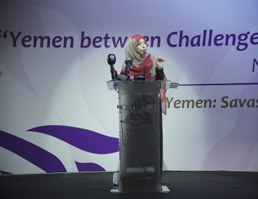 Speech by Mrs. Tawakkol Karman at Istanbul Conference on Yemen