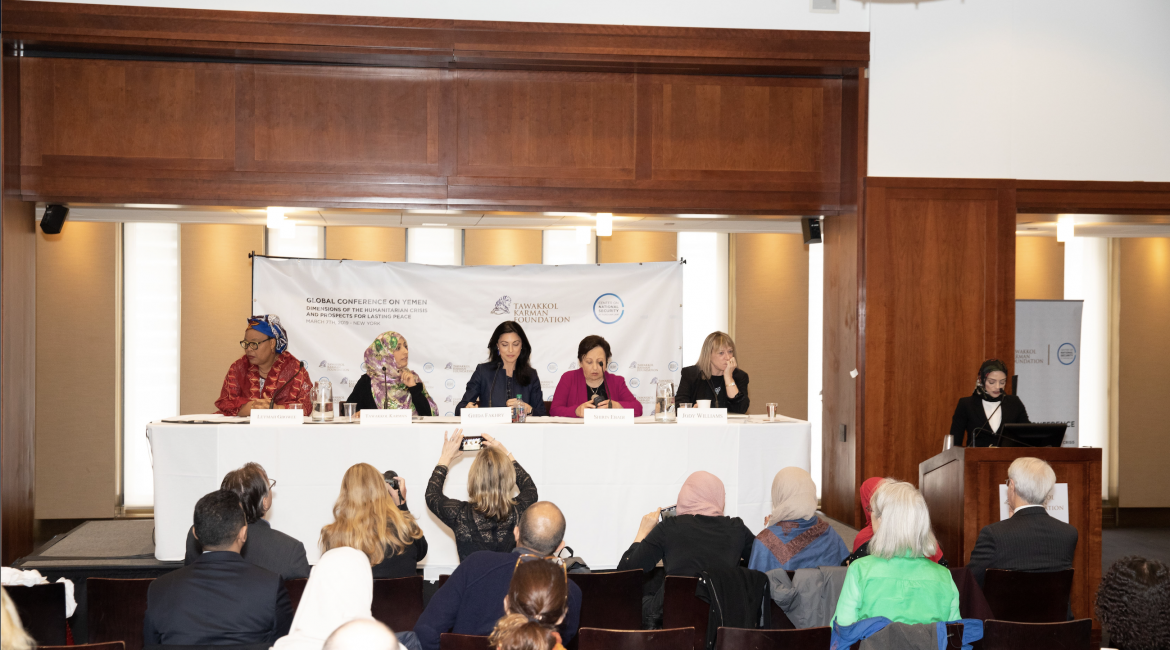 Women Nobel Peace Laureates Urgently Called on the International Community to stop the war Yemen