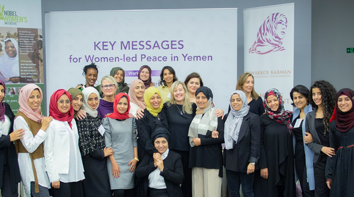 Key messages for women-led peace in Yemen Workshop